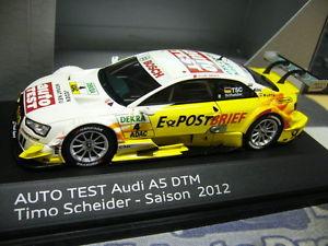 【送料無料】模型車 モデルカー スポーツカーアウディクーペ#テストaudi a5 coupe v8 dtm 2012 as a result 4 postal mail car test abbot resin 143