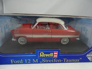 【送料無料】模型車 モデルカー スポーツカーフォードストライプ§ listing118 revell ford 12 m stripe taunus redrarity §
