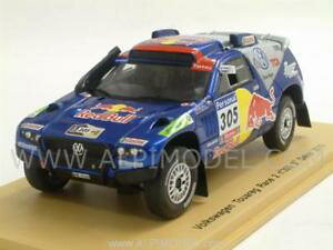 【送料無料】模型車 モデルカー スポーツカーレース#ダカールミラースパークvolkswagen touareg race 2 305 dakar 2010 miller 143 spark s0828