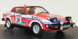 【送料無料】模型車 モデルカー スポーツカースケールスコットランドラリー#クラークポーターtrofeu 143 scale 2009triumph tr7 scottish rally 1980 14 clarkporter