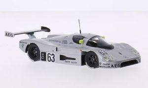 【送料無料】模型車 モデルカー スポーツカーザウバーメルセデスベンツスポーツテクノロジールマンsauber c9 mercedes, 63, mercedesbenz sport technology, 24h le mans, 143