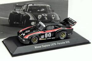 【送料無料】模型車 モデルカー スポーツカーポルシェ#デイトナレースporsche 935 0 winner 24h daytona 1979 interscope racing 143 spark