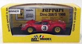 【送料無料】模型車 モデルカー スポーツカーアートモデルスケールアートフェラーリディノペドロロドリゲスart model 143 scale art123 ferrari dino bridgehampton 1986 pedro rodriguez