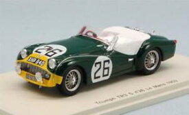 【送料無料】模型車 モデルカー スポーツカーボルトンロスチャイルドスパークモデルtriumph tr3 s n26 50th lm 1959 pboltonmrothschild 143 spark s1396 model