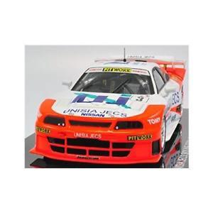 【送料無料】模型車 モデルカー スポーツカーユニシアジェックススカイラインホワイトオレンジebbro 44255 unisia jecs skyline jgtc 1998 hdf white orange 143