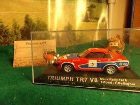 【送料無料】模型車 モデルカー スポーツカーラリーマンマシンミニチュアコレクションtriumph tr7 v8 rally manx 78 tingallagier machine miniature 143 collection