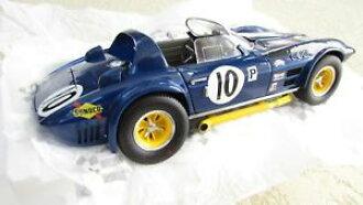 Model car model car sportscar Corbett ground sports race # pence exoto 118  1966 corvette grand sport race car 10 penske sunoco