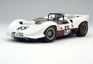 【送料無料】模型車 モデルカー スポーツカーチャパラルレースカーラグランプリシャープジムホールexoto 1965 chaparral 2 race car 118 winner la times gp chevy v8 sharp jim hall