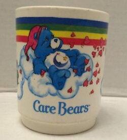 【送料無料】模型車 モデルカー スポーツカーアメリカングリーティングケアベアプラスチックカップtas012875 1983 american greetings corp care bears plastic drinking cup