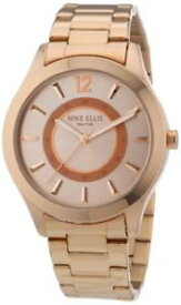 【送料無料】エリスニューヨークアームrotgold unica mike ellis york m2756arm orologio da polso donna, 07s