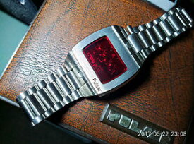 【送料無料】パルサースポーツビンテージpulsar led watch sport 3502 led vintage 70