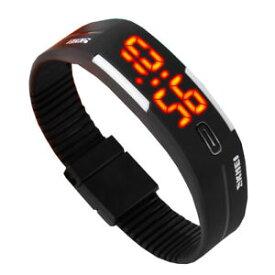 【送料無料】デジタルクロックシリコンスポーツクオーツウォッチled digital orologio silicone orologio sportivo uomo donna orologio da polso quarzo impermeabile