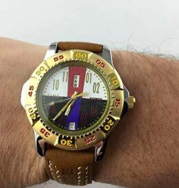 【送料無料】スイスデザインクロックマンビンテージクォーツwatch time force 5463 swiss design orologio uomo day date vintage quarzo