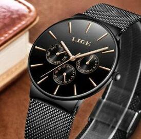 390404a61a 【送料無料】メンズウォッチトップブランドmens orologi lige impermeabile top brand di lusso