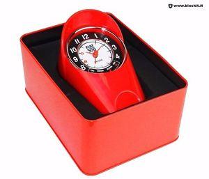 【送料無料】テーブルクロックフィアットレッドorologio da tavolo fiat 500 rosso