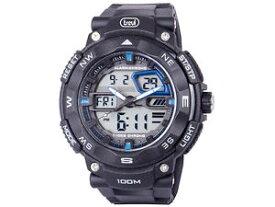 【送料無料】トレビレーサーデジタルアナログクォーツtrevi racer sg320 orologio da polso analogico digitale al quarzo