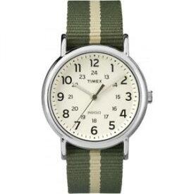 【送料無料】クロックファブリックグリーンリバーシブルストラップorologio timex weekender tw2p72100 tessuto verde militare cinturino reversibile