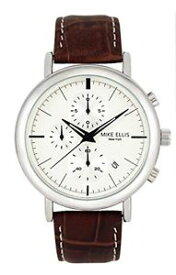 【送料無料】マイクエリスニューヨーククロックmike ellis york sm2960 orologio donavan al quarzo in pelle, j3q