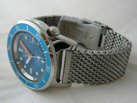 【送料無料】プロフェッショナルメートルポリッシュスチールブレスレットメッシュsquale professional ocean 500mt acciaio lucido, bracciale mesh