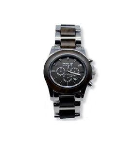 【送料無料】orologio da polso con applicazioni in legno dolfi, orologi da uomo