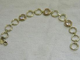 【送料無料】ブレスレット アクセサリ— スターリングシルバーウェールズゴールドローズクォーツブレスレットclogau sterling silver amp; 9ct welsh gold ripples rose quartz bracelet rrp 30000