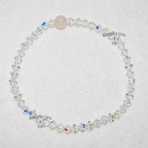 【送料無料】ブレスレット アクセサリ— スワロフスキークリスタルエレメントビーズブレスレット listingab swarovski crystal elements precious gemstone stylish beaded bracelet gift