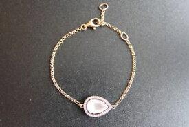 【送料無料】ブレスレット アクセサリ— トーマスシルバーローズゴールドローズクォーツブレスレットthomas sabo silver rose gold plated rose quartz amp; cz bracelet a13264179l195