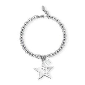 【送料無料】ブレスレット カフbracciale donna 2jewels like a star in acciaio ipoallergenico e cristalli 231941