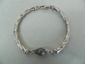【送料無料】ブレスレット カフシルバーターコイズビンテージbracciale donna argento 925 con turchese lucido vintage oma19