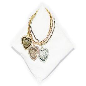 【送料無料】ブレスレット カフカラーバタフライブレスレットトリプルメタルbracciale donna cuore farfalla colore 3 ori braccialetto triplo metallo