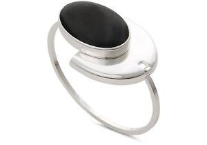 【送料無料】ブレスレット オリバーシルバーブラックブレスレットoliver bonas tzara bracciale in argento dichiarazione nero rrp nuovo di zecca 36