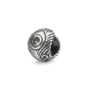 【送料無料】ブレスレット trollbeadsoriginal authentic argento piuma di pavone tagbe10191