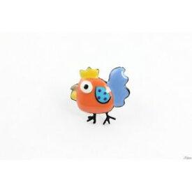 【送料無料】ブレスレット リングコレクション・コックチキンリングオレンジanello collezione cocorico,gallina,coq,pollo anello,lol bijoux,arancione
