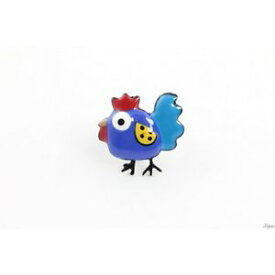 【送料無料】ブレスレット anello collezione cocorico,gallina,coq,pollo anello,lol bijoux,blu popupbijoux