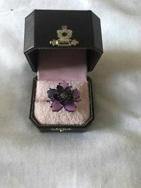 【送料無料】ブレスレット ジューシークチュールリングjuicy couture anello