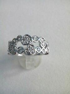 【送料無料】ブレスレット シルバーホワイトサンバレンティーノリングanello donna cuore argento 925 ,zirconi bianchi mis 16 idea regalo san valentino
