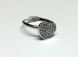 【送料無料】ブレスレット シルバーリングフォームanello argento 925 forma cuore con zirconi