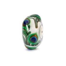 【送料無料】ブレスレット オリジナルガラスビーズtrollbeads original beads vetro occhio di pavone tglbe10420