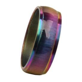 【送料無料】ブレスレット リングリングステンレススチールアクセサリanello fascia lucido anello in acciaio inox accessorio nuziale monili per