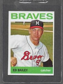 【送料無料】スポーツ メモリアル カード #エドベイリー1964 topps baseball 437 ed bailey exmt *0437a