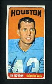 【送料無料】スポーツ メモリアル カード プリント#ジムノートンワックスヒューストン1965 topps single print 83 jim norton ex condition wax stain houston oilers