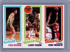 【送料無料】スポーツ メモリアル カード #フレッドブラウンラリーワシントン198081 topps 77 228 fred brown larry kenon tl kermit washington