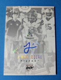 【送料無料】スポーツ メモリアル カード ムーアインクカードサイン#ファイバ listingjmon moore 2018 luminance ink rookie card autograph 99, optic gold lettering