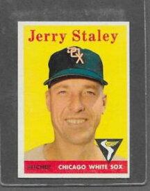【送料無料】スポーツ メモリアル カード #ジェリー1958 topps baseball 412 jerry staley exmt *6406