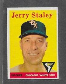【送料無料】スポーツ メモリアル カード #ジェリー1958 topps baseball 412 jerry staley exmt *6405
