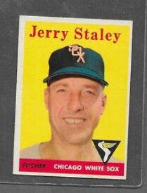 【送料無料】スポーツ メモリアル カード #ジェリー1958 topps baseball 412 jerry staley exmt *6377