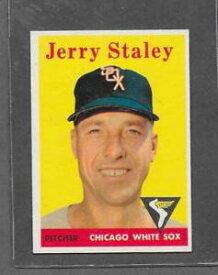 【送料無料】スポーツ メモリアル カード #ジェリー1958 topps baseball 412 jerry staley exmt *6374