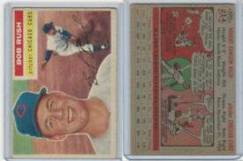 【送料無料】スポーツ メモリアル カード #ボブラッシュシカゴカブス1956 topps baseball, 214 bob rush, chicago cubs