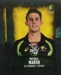 【送料無料】スポーツ メモリアル カード タップカードオーストラリアミッチェルマーシュ2016 tap n play base card australia t20 mitchell marsh