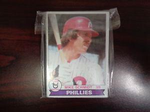 【送料無料】スポーツ メモリアル カード フィラデルフィアフィリーズチームセットマイクシュミット1979 topps philadelphia phillies team set mike schmidt